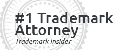 No. 1 Ranked Trademark Attorney by Trademark Insider